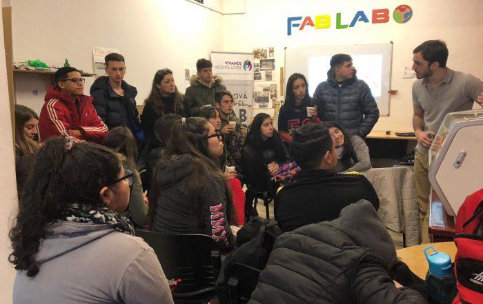 La Escuela Secundaria n° 8 visita el #FABLABVL