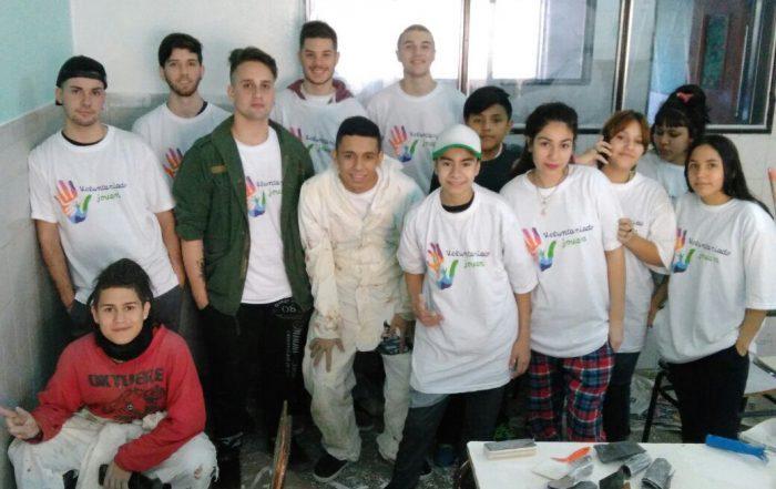 Voluntariado Joven en la Media N°3 y la Técnica N°2