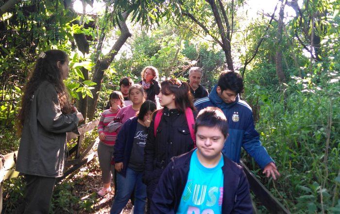 El CEFL visitó la Reserva Ecológica de Vicente López