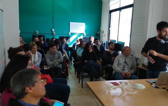 La Empresa EVO 3D dió una charla en el Fab Lab VL