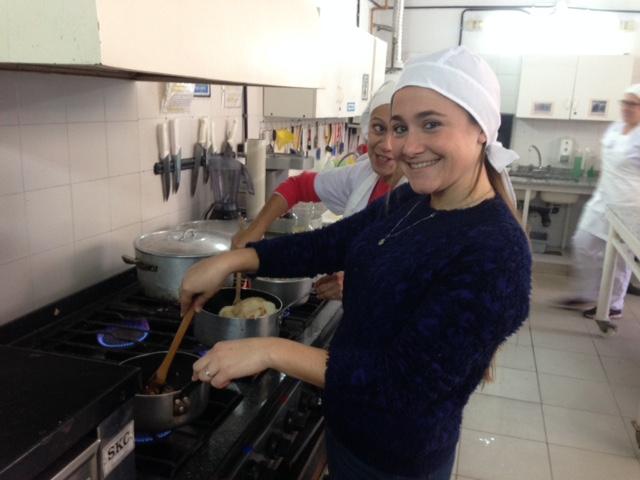 Taller de cocina durante las vacaciones de invierno