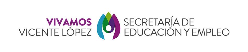 Secretaría de Educación y Empleo | Municipalidad de Vicente López Logo