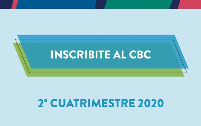 #Inscribite y cursá el CBC en el 2do cuatrimestre