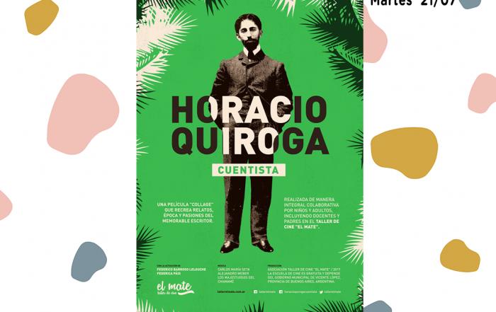 """#ElMate - Proyección de """"Horacio Quiroga, cuentista"""" en la Biblioteca Nacional"""
