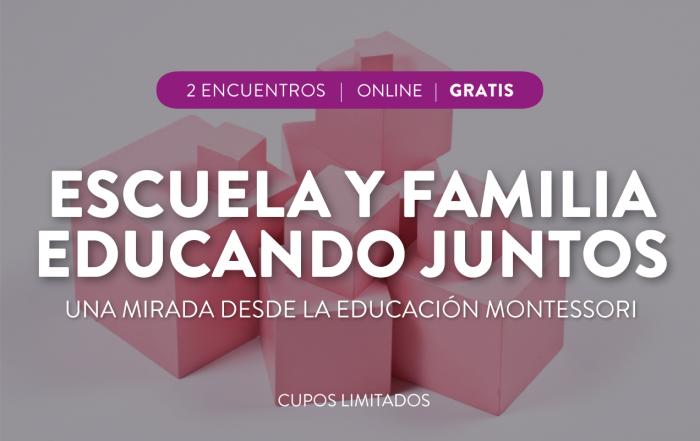 #CuposAgotados ► Talleres para familias