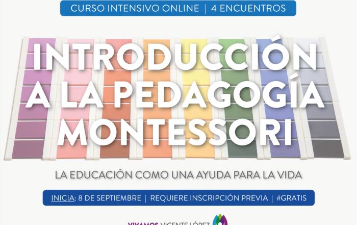 #CursoIntensivo ► Introducción a la Pedagogía Montessori