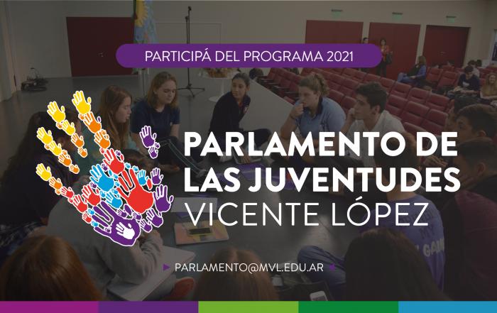 #Inscripción2021 ► ¡Participá del Parlamento de las Juventudes!