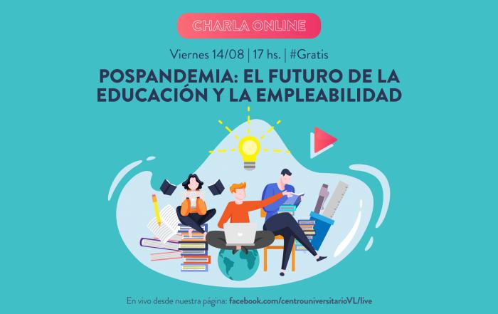 #VIVO ► Pospandemia: El futuro de la educación y la empleabilidad