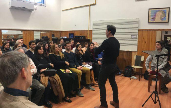 Master class de canto en el ISMJH