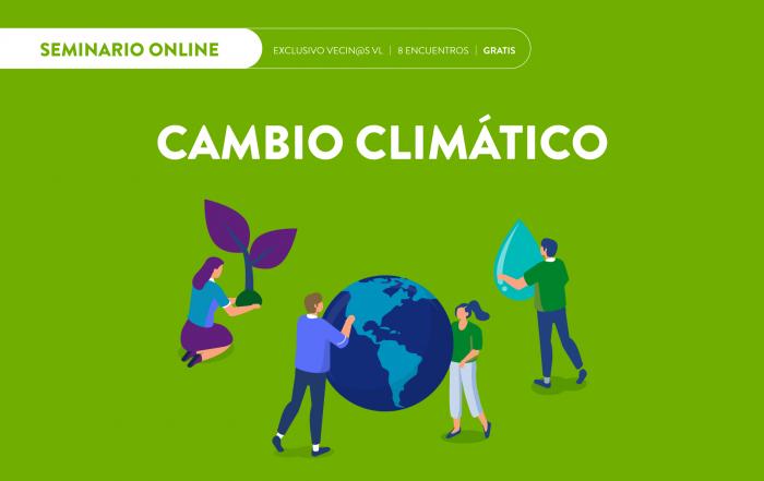 #ReuniónInformativa ► Seminario #online de Cambio Climático