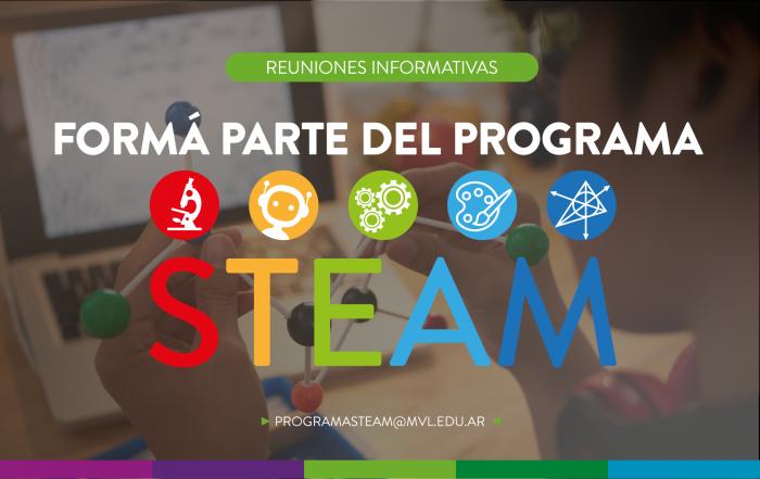 ¡Formá parte del programa #STEAMVL 2021!