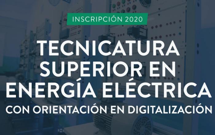 #INSCRIPCIÓN ► Tecnicatura Superior en Digitalización