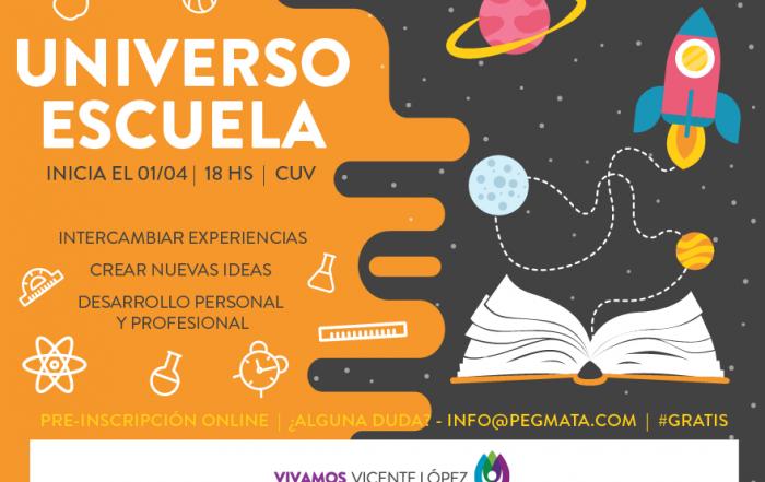 [ #Pre-Inscripción online ] ► PROGRAMA UNIVERSO ESCUELA