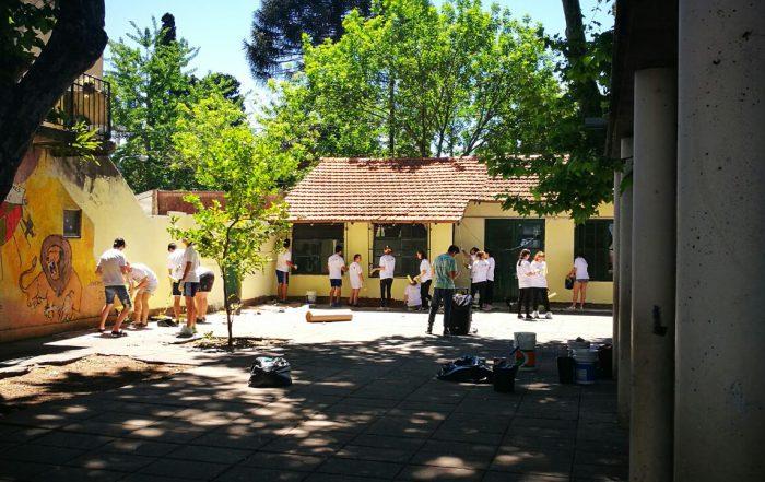 Voluntariado en la Escuela Primaria N° 8