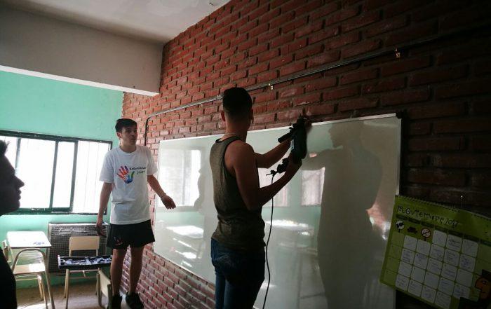 Voluntariado en Secundaria N°7