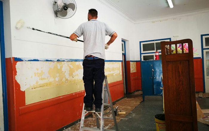 Voluntariado en la Escuela Primaria N°12