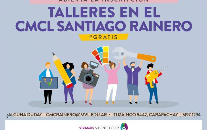 [ NUEVOS CURSOS ] ► #CMCL Santiago Rainero