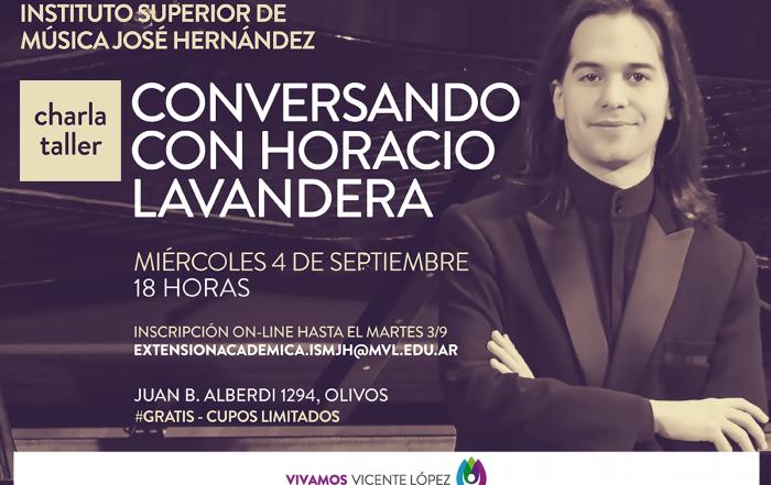 #Charla ► Conversando con Horacio Lavandera