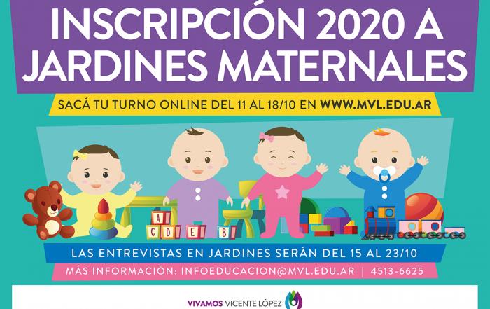 #Pre-Inscripción 2020 ► Jardines Maternales Municipales