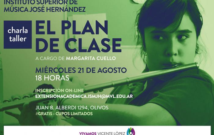#Charla ► El plan de clase
