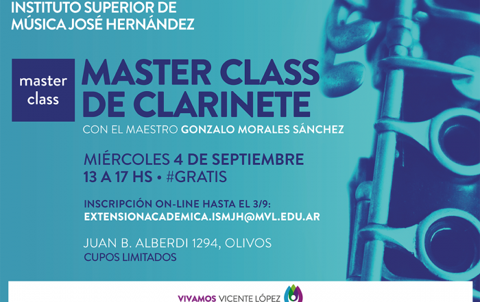 #MasterClass ► Clarinete