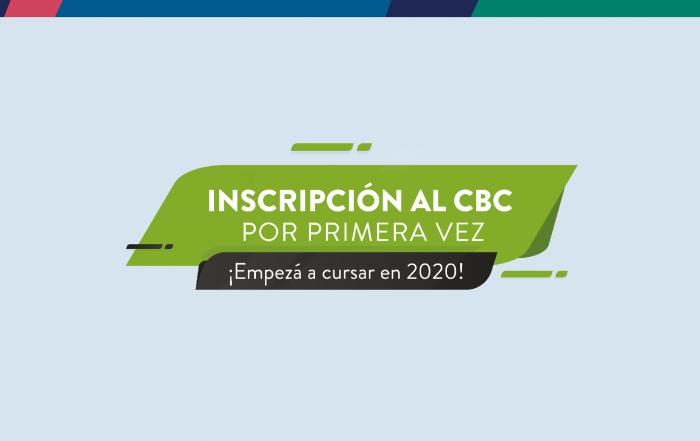 #Inscripción ► CBC 2020