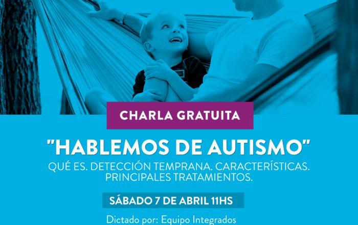 """Charla """"Hablemos de autismo"""""""
