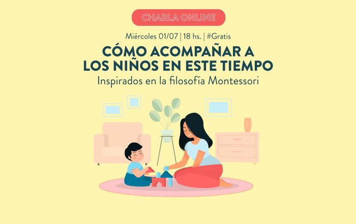 """Charla """"Cómo acompañar a los niños en este tiempo"""" ► Inspirados en la filosofía Montessori #VIVO"""