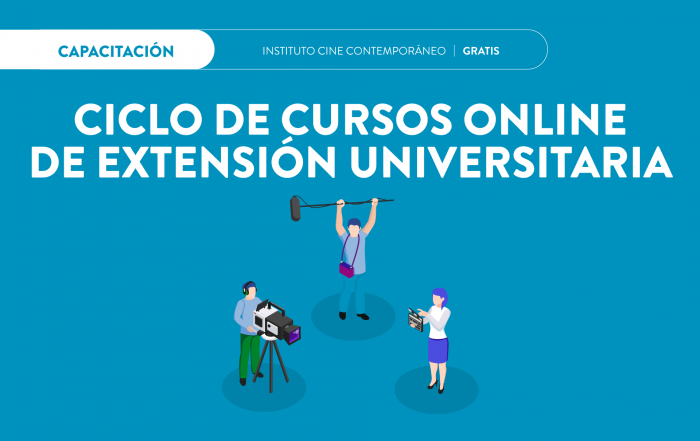#CursosOnline ► INSTITUTO DE CINE CONTEMPORÁNEO