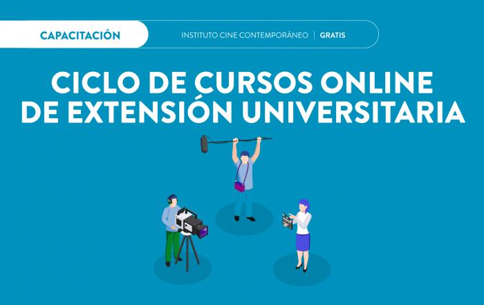 #CursosOnline ► INSTITUTO DE CINE CONTEMPORÁNEO