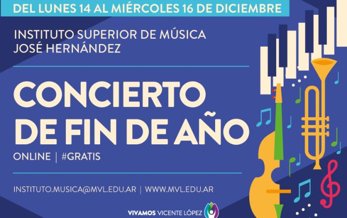 #ConciertoOnline de fin de año ► INSTITUTO SUPERIOR DE MÚSICA JOSÉ HERNÁNDEZ