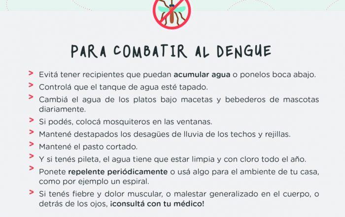 #Juntos podemos combatir al Dengue