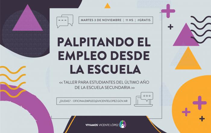 #Taller ► PALPITANDO EL EMPLEO DESDE LA ESCUELA
