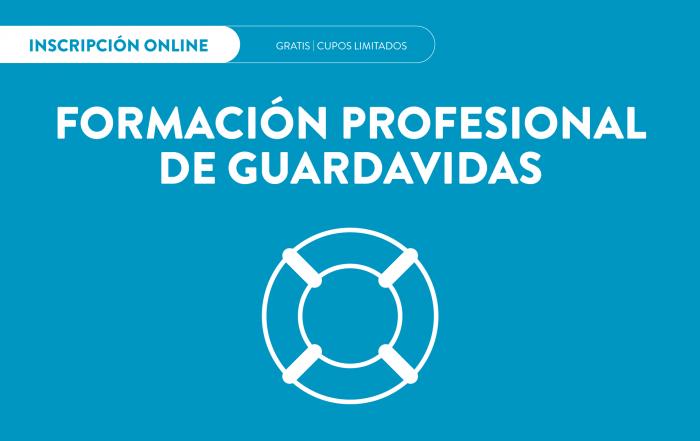 #Inscripción2021 ► GUARDAVIDAS