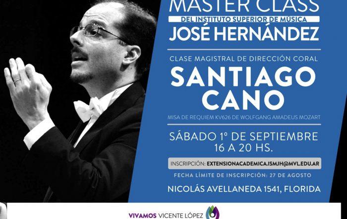 Clase Magistral de Dirección Coral con Santiago Cano