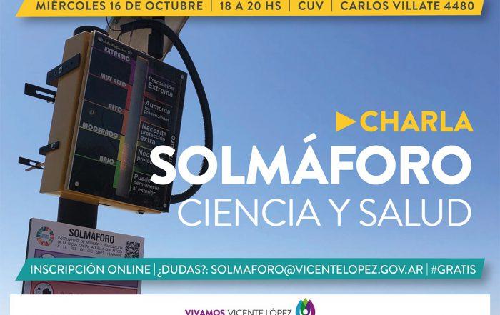 #Charlas ► Solmáforo: Ciencia y Salud