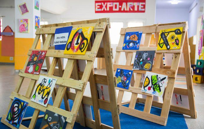 Muestra de Arte en el Jardín de Infantes nº 4
