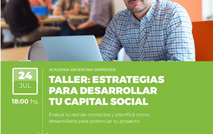 #Taller ► Estrategias para desarrollar tu capital social