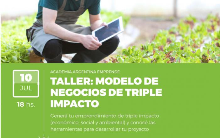 #Taller ► Modelo de negocios de triple impacto