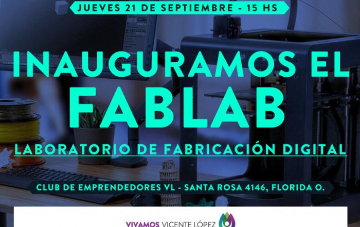 Inauguración del FABLAB del Club de Emprendedores