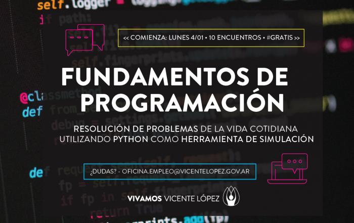 #CursoOnline ► Fundamentos de Programación
